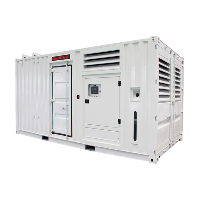 CONTAINERIZED TYPE DIESEL GENERATOR SETS--CUMMINS SERIES